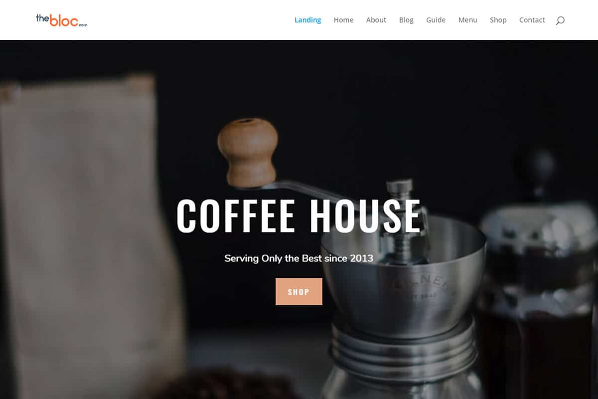 Coffee Shop Demo