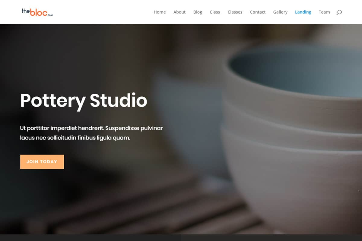Pottery Studio Demo