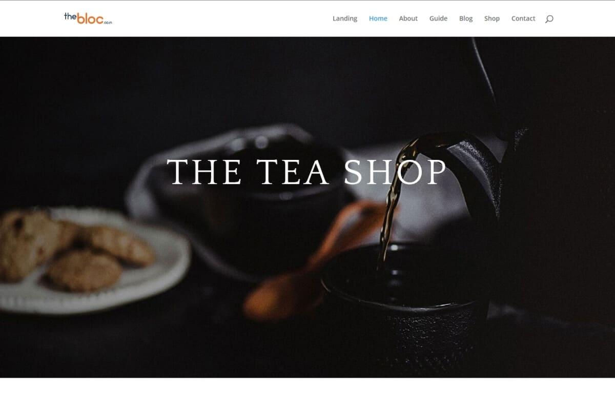 Tea Shop Demo