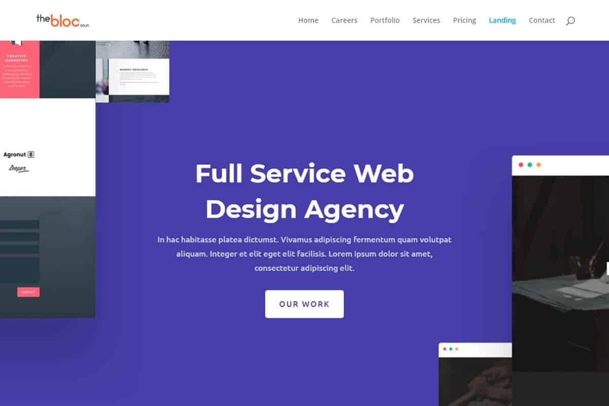 Web Agency Demo