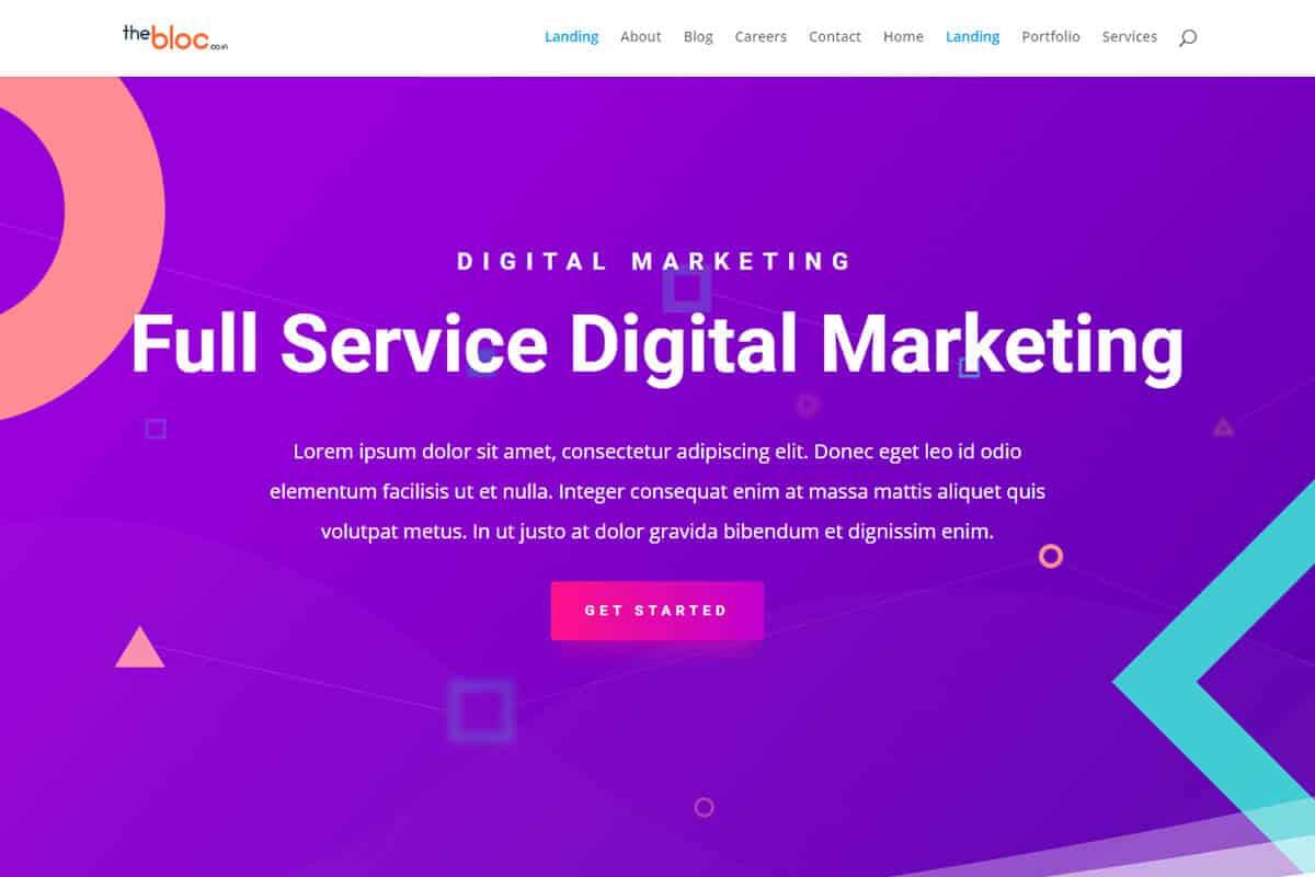 Digital Marketing Demo