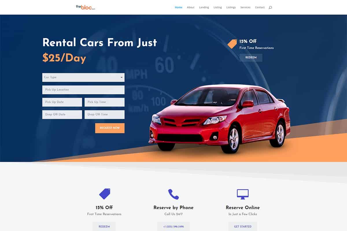 Car Rental Demo
