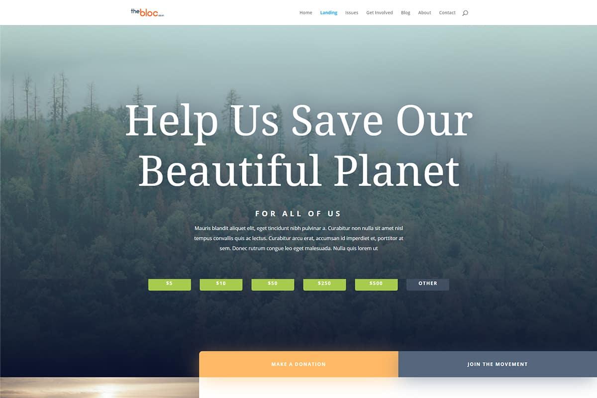 Environmental Non Profit Demo