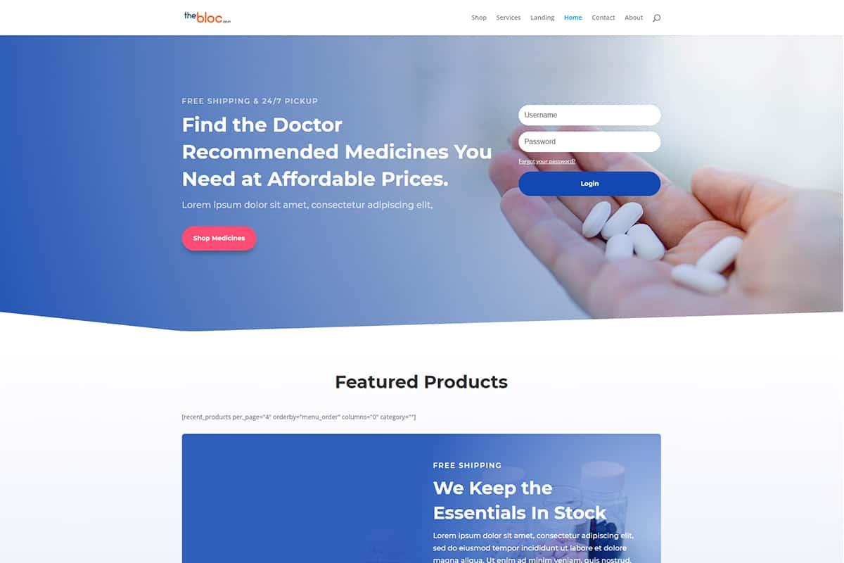 Pharmacy Demo