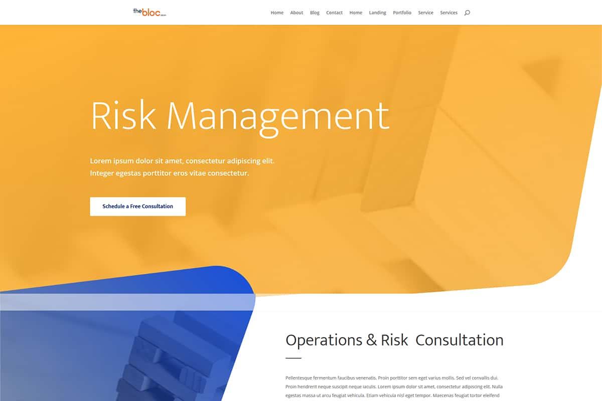 Risk Management Demo